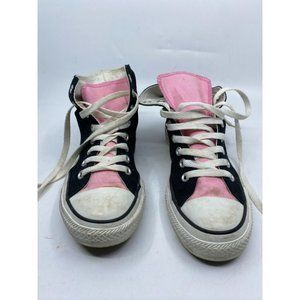 CONVERSE Sneakers White Black Pink Men's Size 6.5